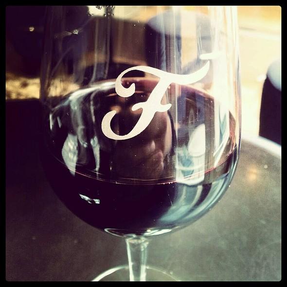 Portuguese Red Wine @ Café Vasco Da Gama