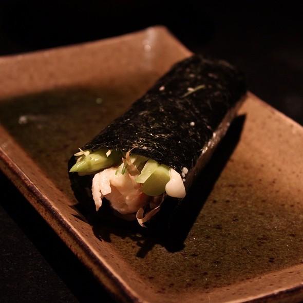 Tiger Prawn Hand Roll @ 三井日本料理