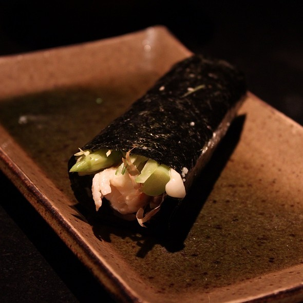 Tiger Prawn Hand Roll @ 三井日本料理
