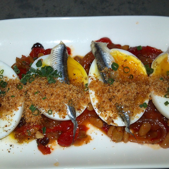 Soft Cooked Eggs @ Anchovies & Olives