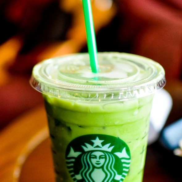 Green Tea Latte @ Starbucks