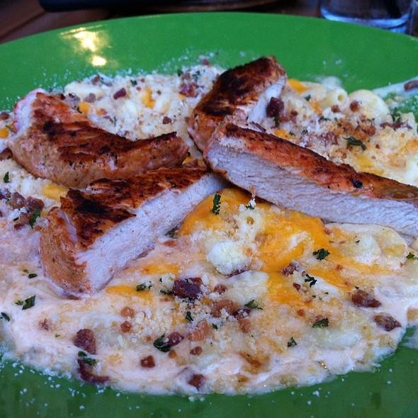 Five-Cheese Macaroni & Achiote Chicken