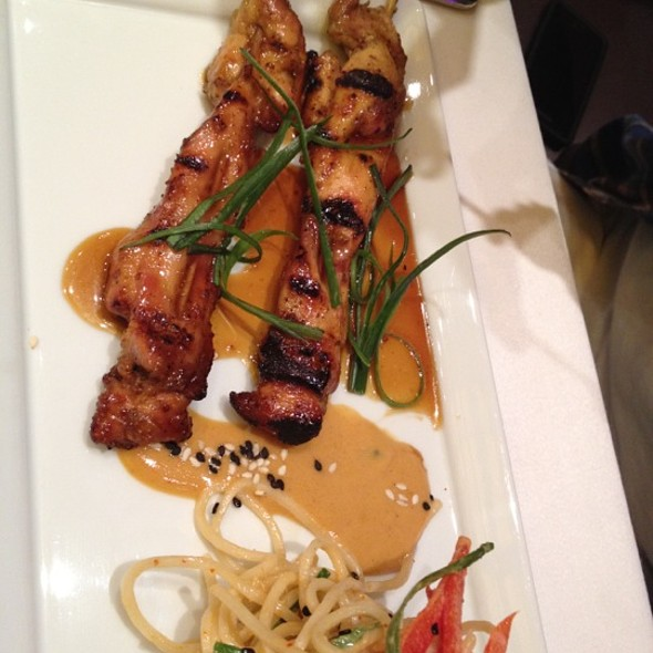 Chicken satay @ China Grill