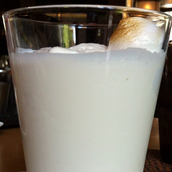 Vanilla Marshmallow Milkshake - Bourbon Steak - Four Seasons Washington DC, Washington, DC