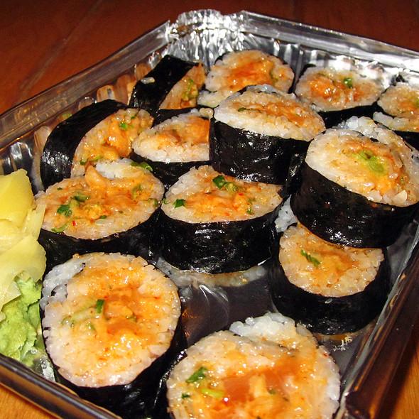 Spicy Salmon Roll @ Zen Restaurant