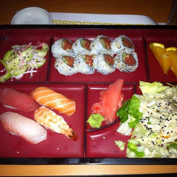 Sushi Bento Box @ Mk Teriyaki Restaurant