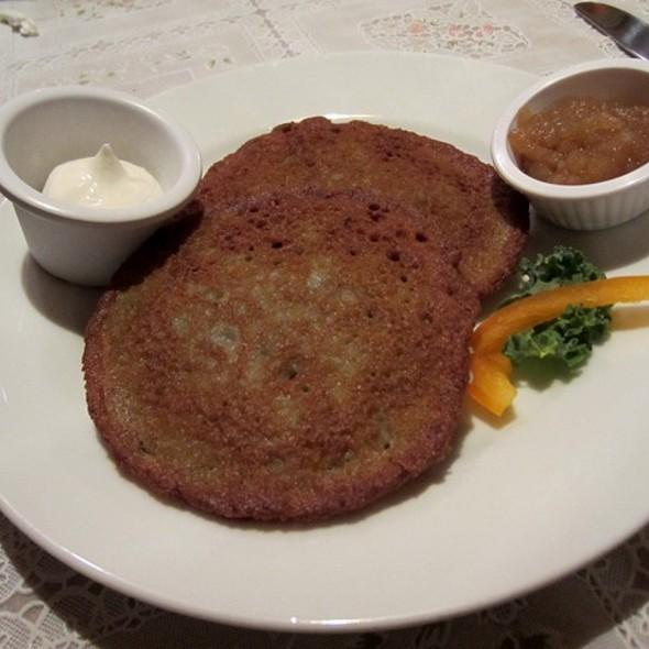Potato Pancakes @ Anna's Polish Restaurant