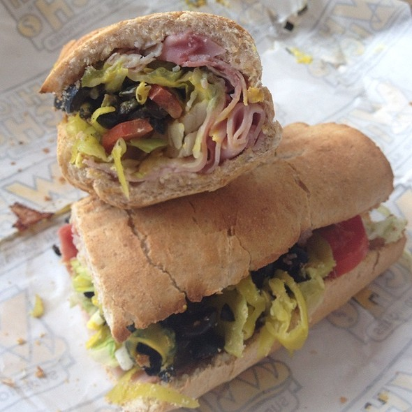 The Cuban @ Which Wich Superior Sandwiches