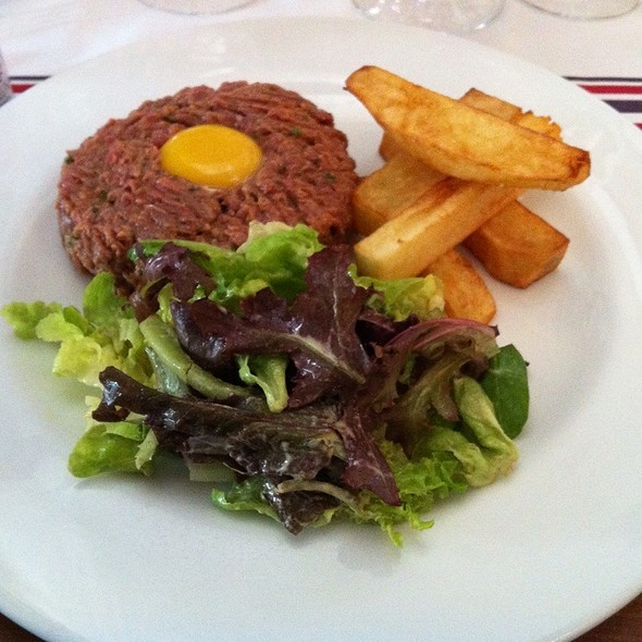 steak tartare @ Baco
