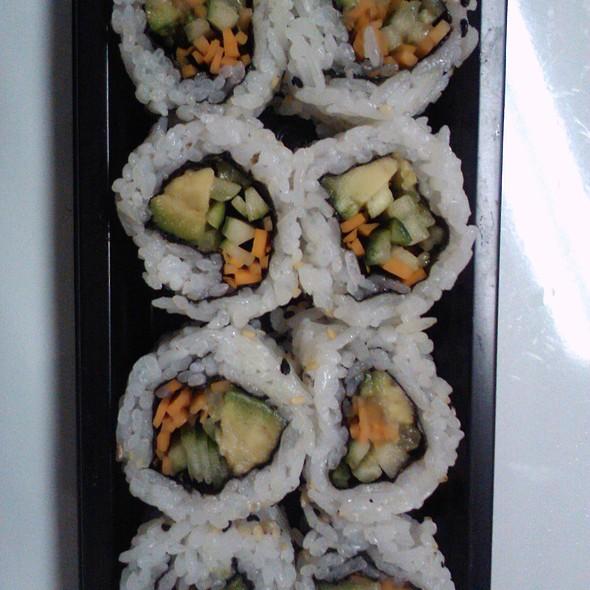 Avocado Cucumber Sushi Roll @ Sushi & Bento Restaurant