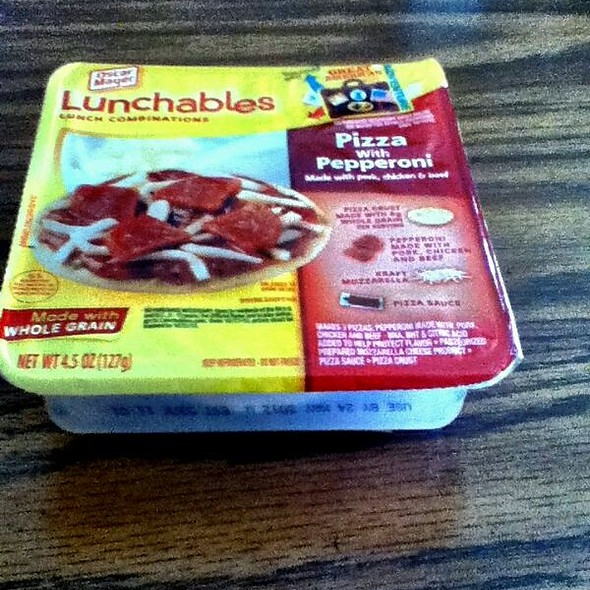 Lunchables Pizza With Pepperoni