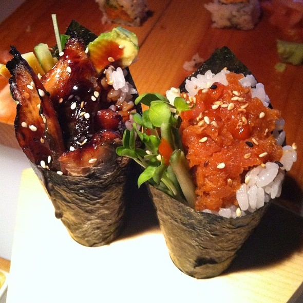 Assorted Sushi Handrolls @ Tokyo Steak House