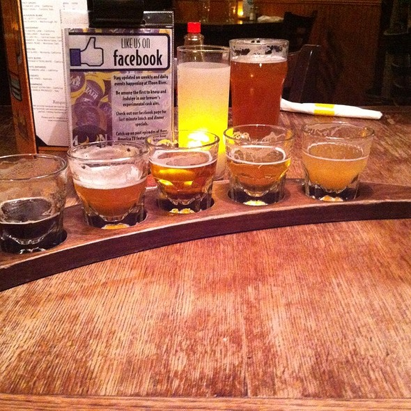 Beer Sampler @ Moon River Brewing Co