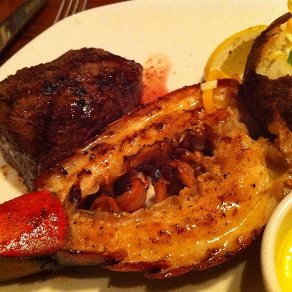 6 Oz Sirlion With Lobster Tail @ Outback Steakhouse