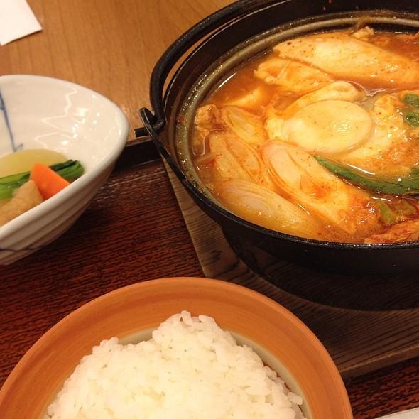 Kimchi Tofu Soup @ Ootoya (The Mall Bangkapi)