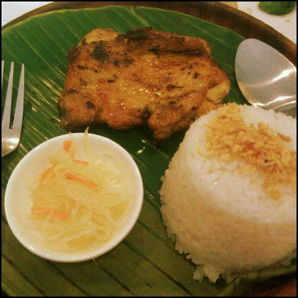 Grilled Chicken @ Inasal Chicken Bacolod