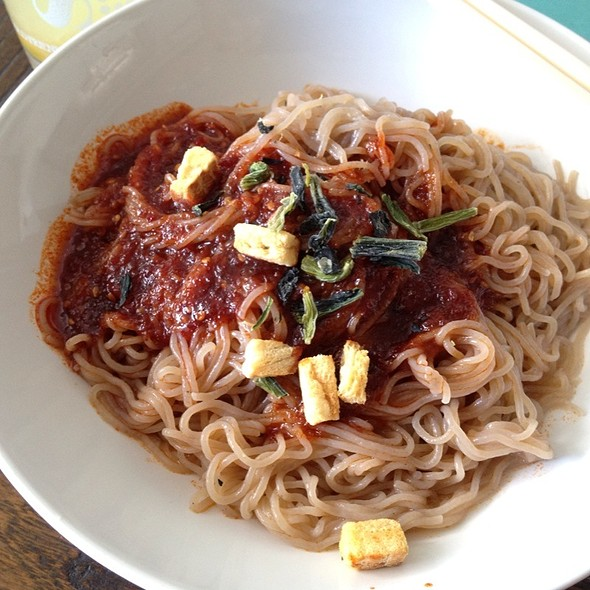 Korean Instant Cold Noodles @ Home