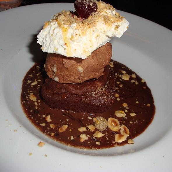 Ice Cream Brownie Sundae - Volo Restaurant Wine Bar, Chicago, IL
