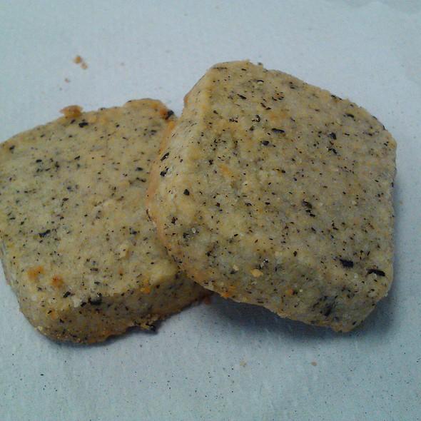 Green Tea Shortbread Cookies @ Work