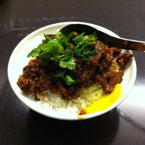 Spiced Pork Stew Over Rice @ Facing East