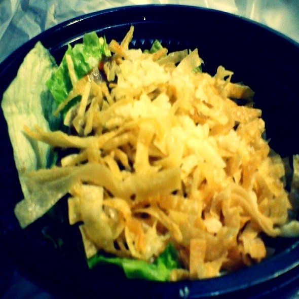 green salad @ Stackers Burger Café