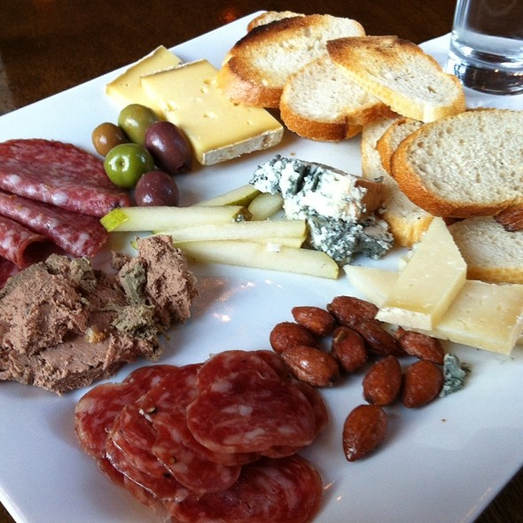 Cheese and Meat Plate @ Cure