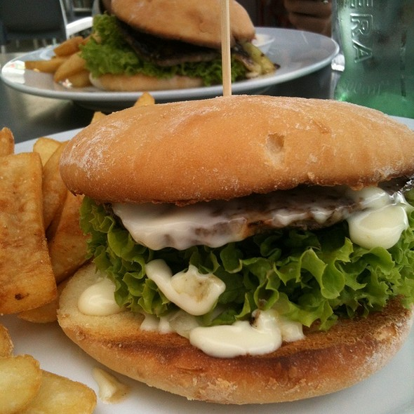 Lamb Gourmet Burger @ 151 Ocean View Seafood Bar & Grill