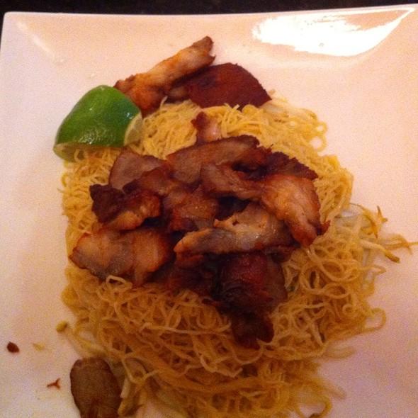 BBQ Pork With Egg Noodles @ Bai Plu Restaurant & Sushi Bar