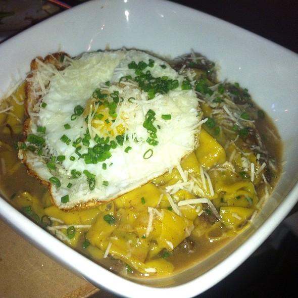 "Beef Shank ""Birria"" With Fresh Pasta  @ Bäco Mercat"