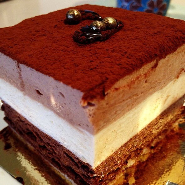 Triple Chocolates Mousse @ Brendan Dewar Patisserie
