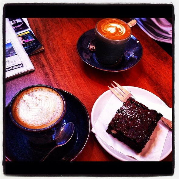 Daddys Girl Coffee And Chocolate Brownie @ The Brunswick East Project