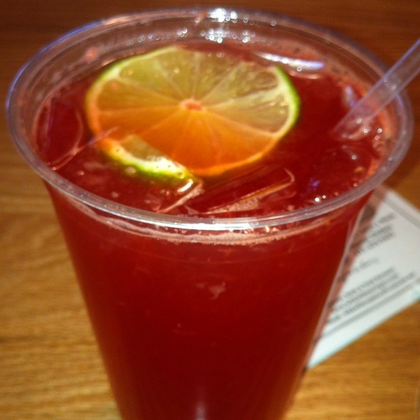 Raspberry & Lime Rickey @ Wild Willy's Burgers