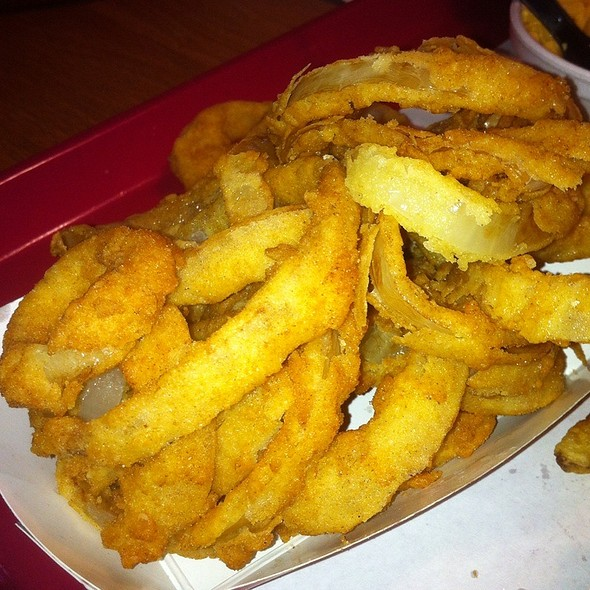 Onion Rings @ Wild Willy's Burgers