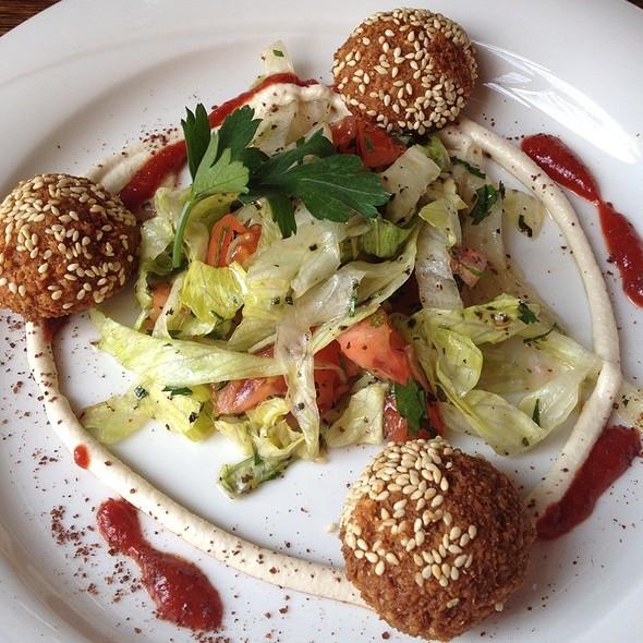Falafel @ Restaurant Mazza Hamburg