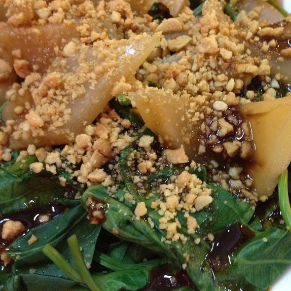 Sotong Kangkung @ Min Fon Restaurant