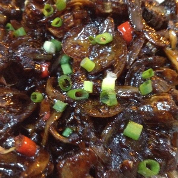 Spicy Fried Balakong @ Min Fon Restaurant