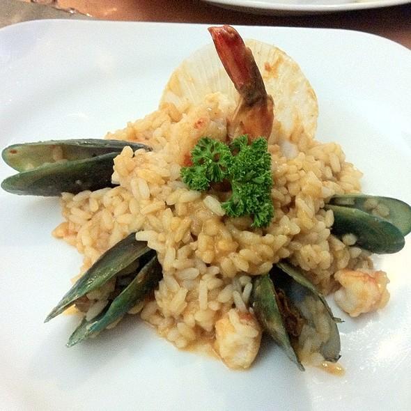 Seafood Risotti @ Aria Cucina Italiana