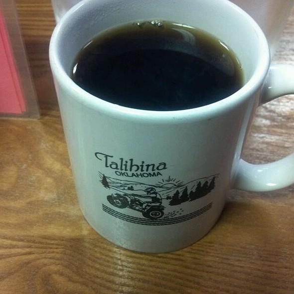 Coffee @ Treats and Treasures