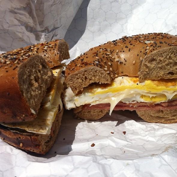 Breakfast Sandwich @ Avalon Coffee Company
