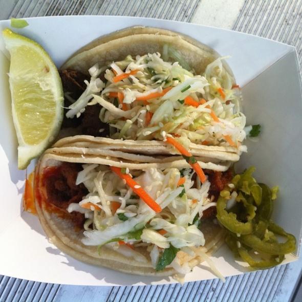 Thai Style Tacos