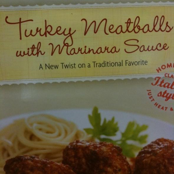 Turkey Meatballs @ Trader Joe's