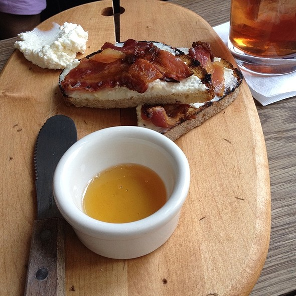 Bacon, Ricotta And Honey @ The Wren