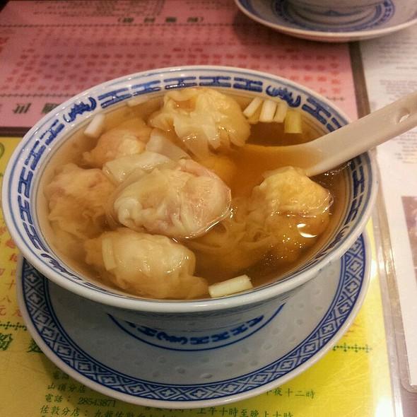 Shrimp Wonton Soup @ Mak's Noodle