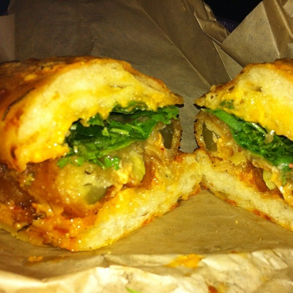 Spicy Deep Fried Pickle Melt