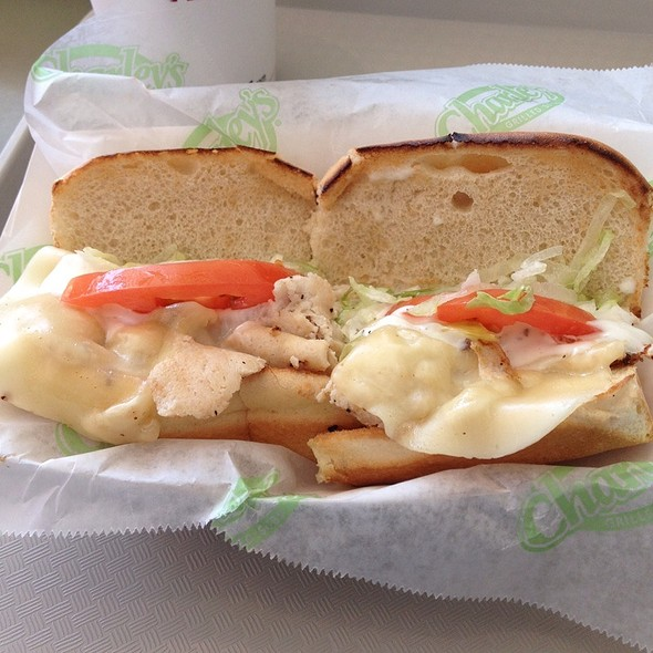 Chicken California @ Charley's Grill Subs