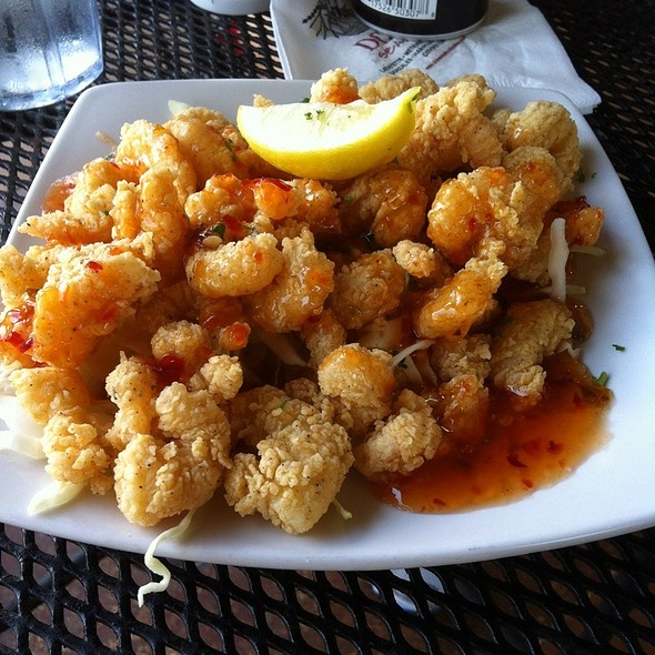 Zydeco Shrimp @ DON'S SEAFOOD HUT