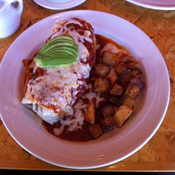 Breakfast Burrito @ Ella's Restaurant