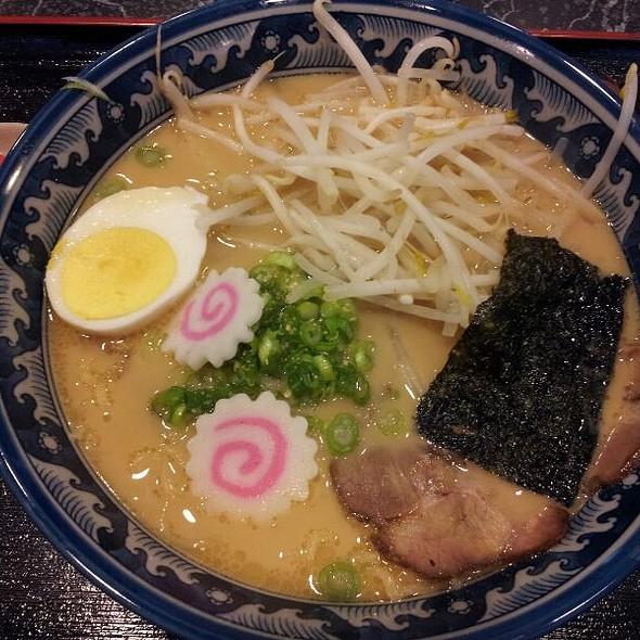 Tonkatsu Ramen Noodle Soup  @ Ramen House Ryowa