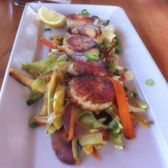Sauteed Scallops @ Inlet Seafood Restauran