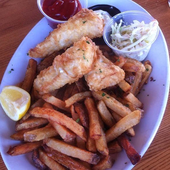 Fish and Chips @ Inlet Seafood Restauran